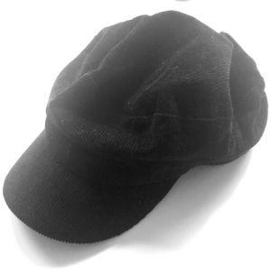 Zara Corduroy Baker Boy Hat